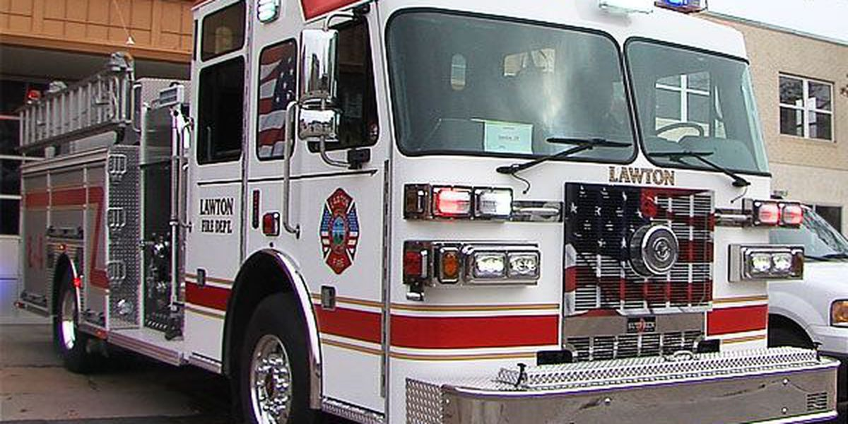 Lawton Fire Department gets new pumper truck, more to come