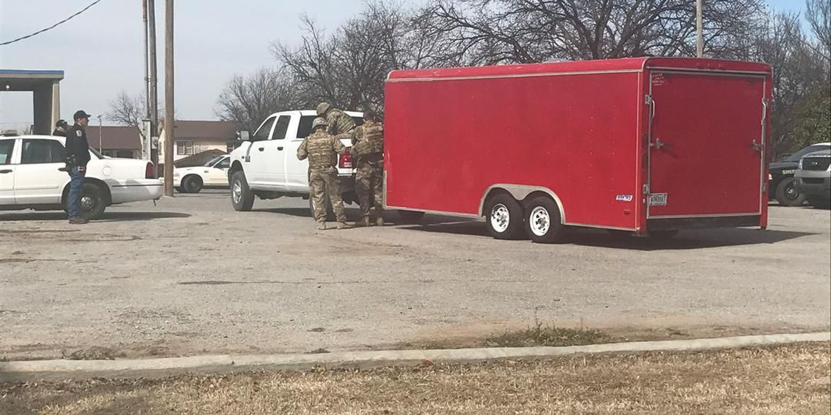 Cotton County Courthouse evacuated after military round brought to sheriff's office