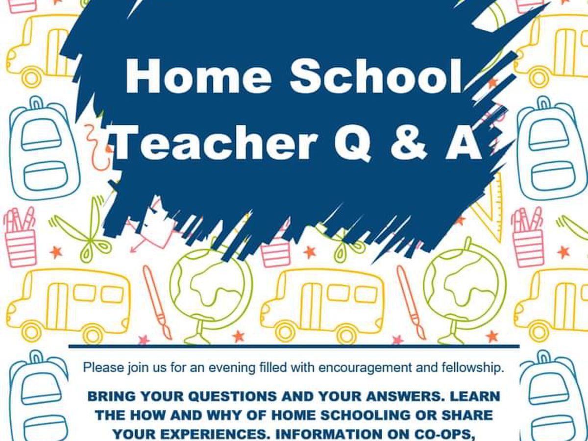 Duncan homeschooling moms holding Q&A event for new homeschooling parents