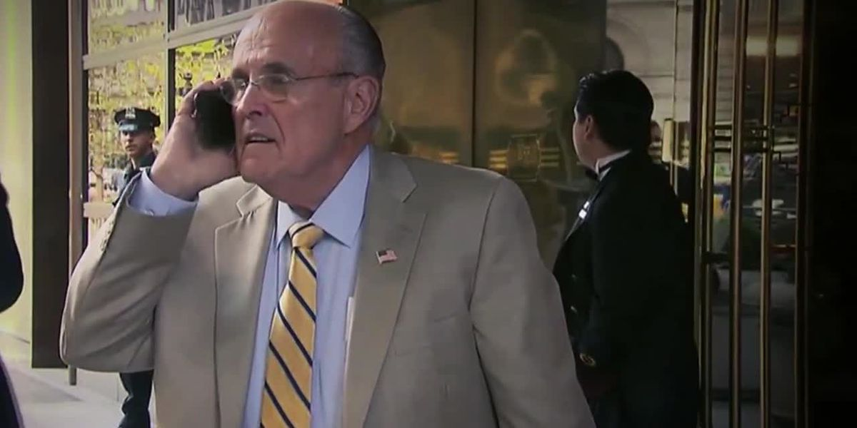 Giuliani's trip to Ukraine is attempt to dig up dirt