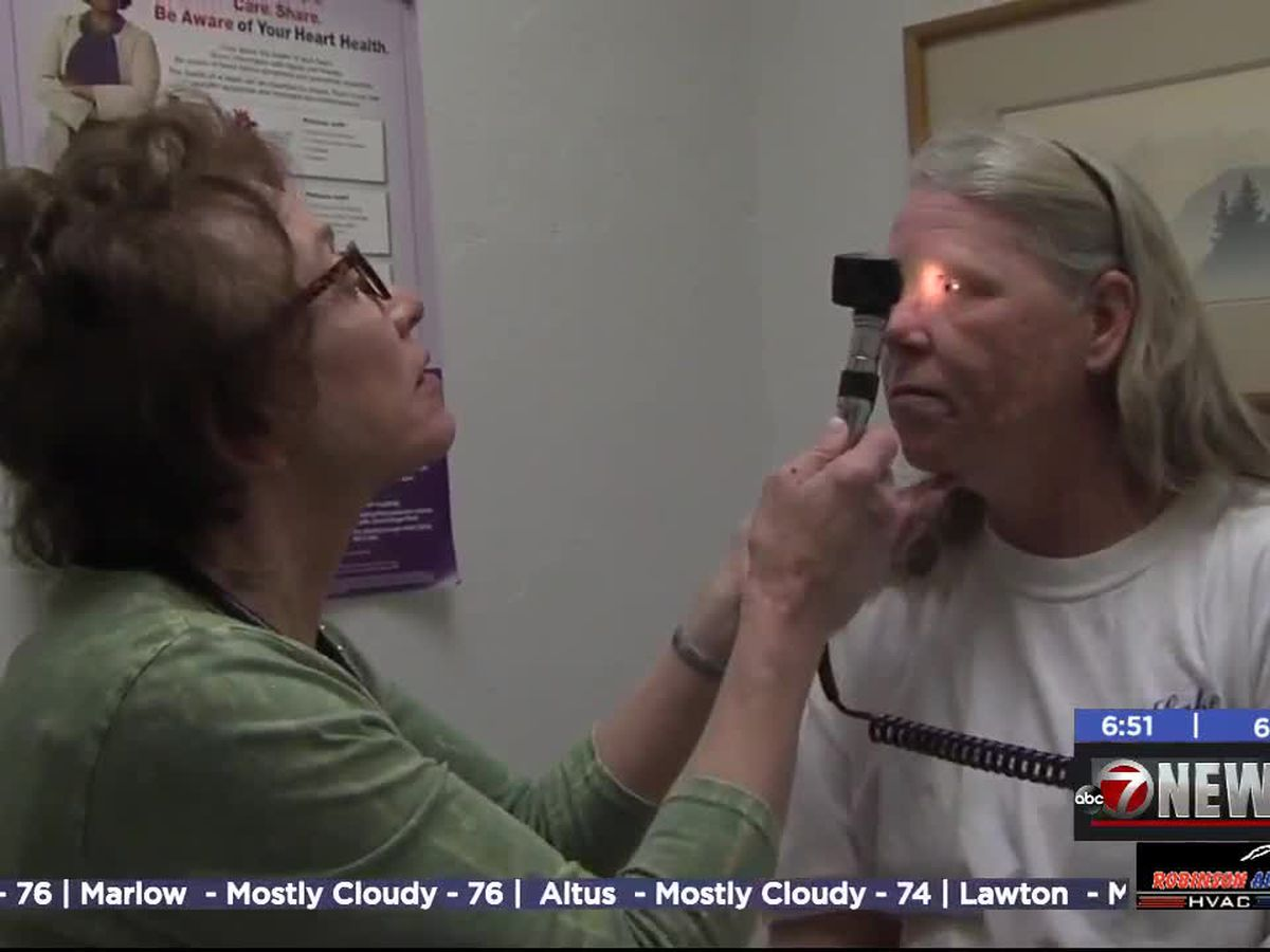 Lawton clinic offers healthcare to patients without health insurance