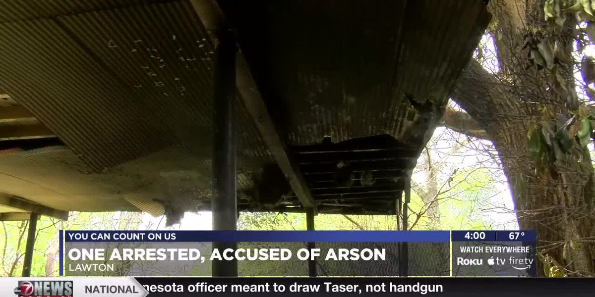 Man arrested, accused of arson in Lawton
