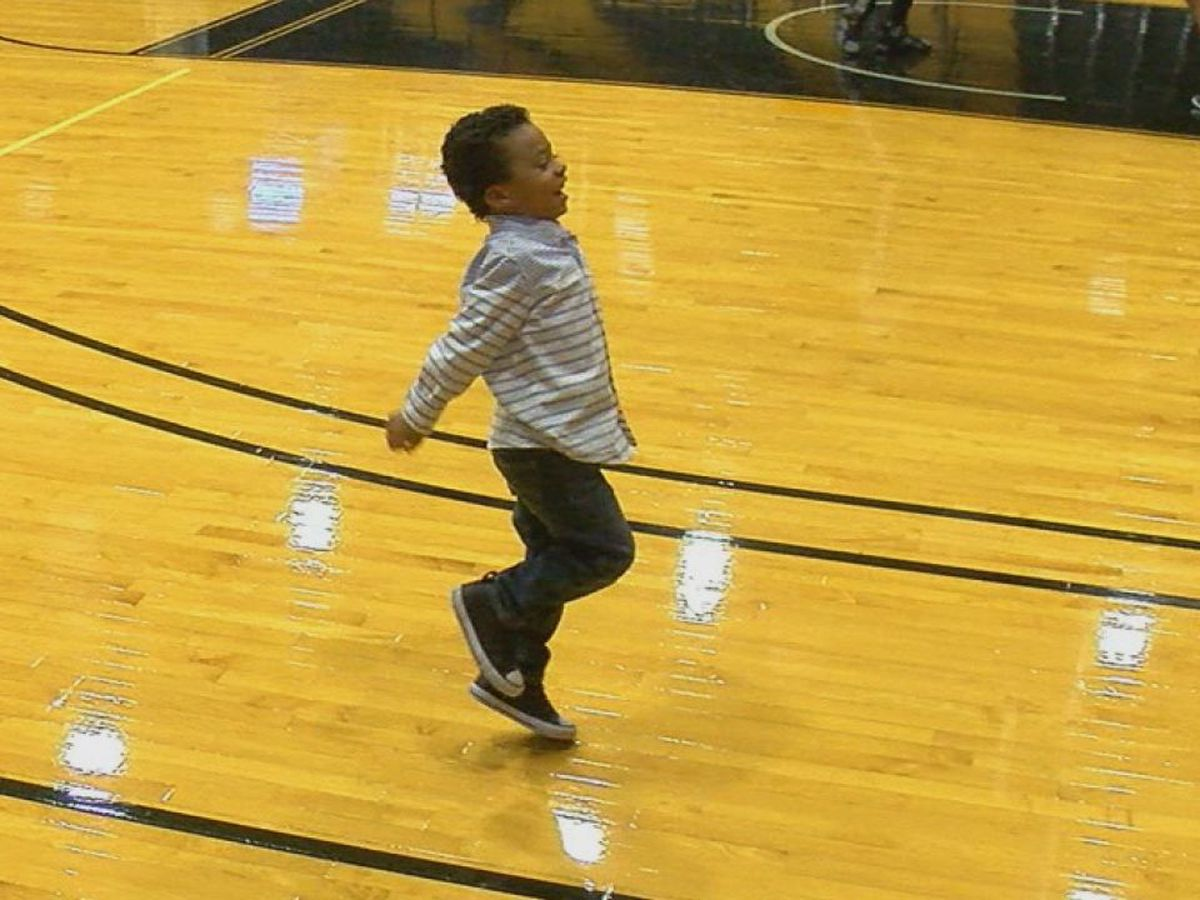 Lawton kid's solo at Cameron's Aggie Madness goes viral