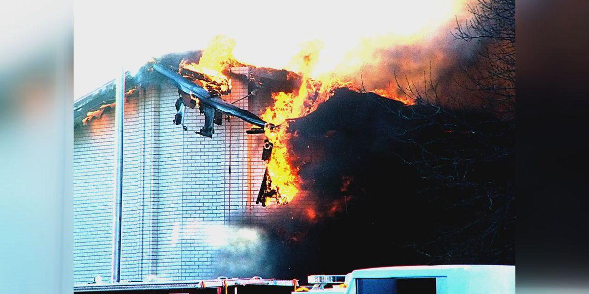 Fire destroys Altus church Sunday morning