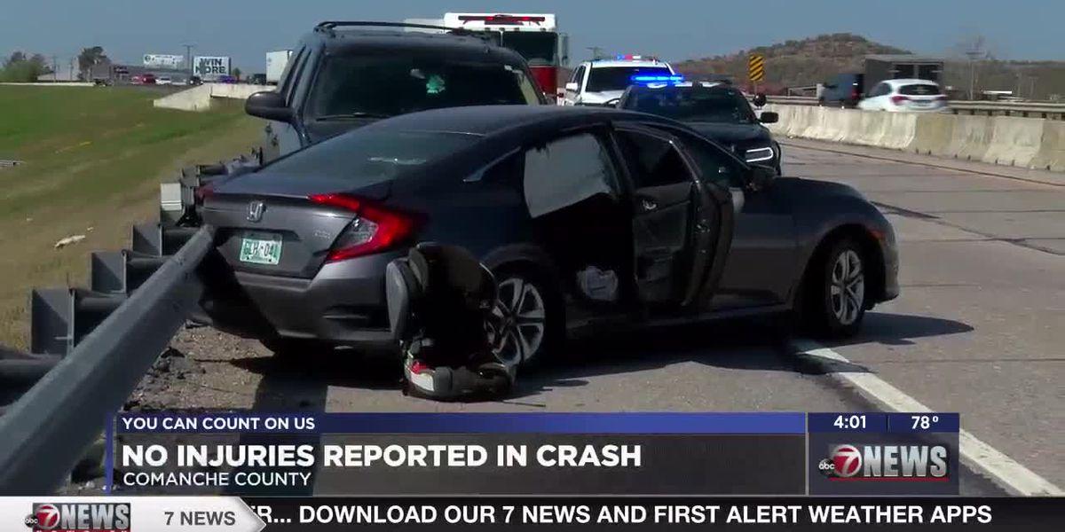 Comanche County authorities called to crash on I-44