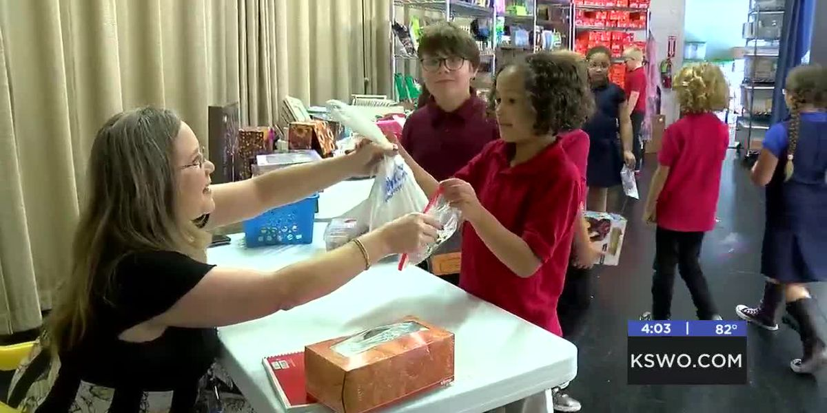Washington Elementary hope to increase attendance with 'Pawmart'