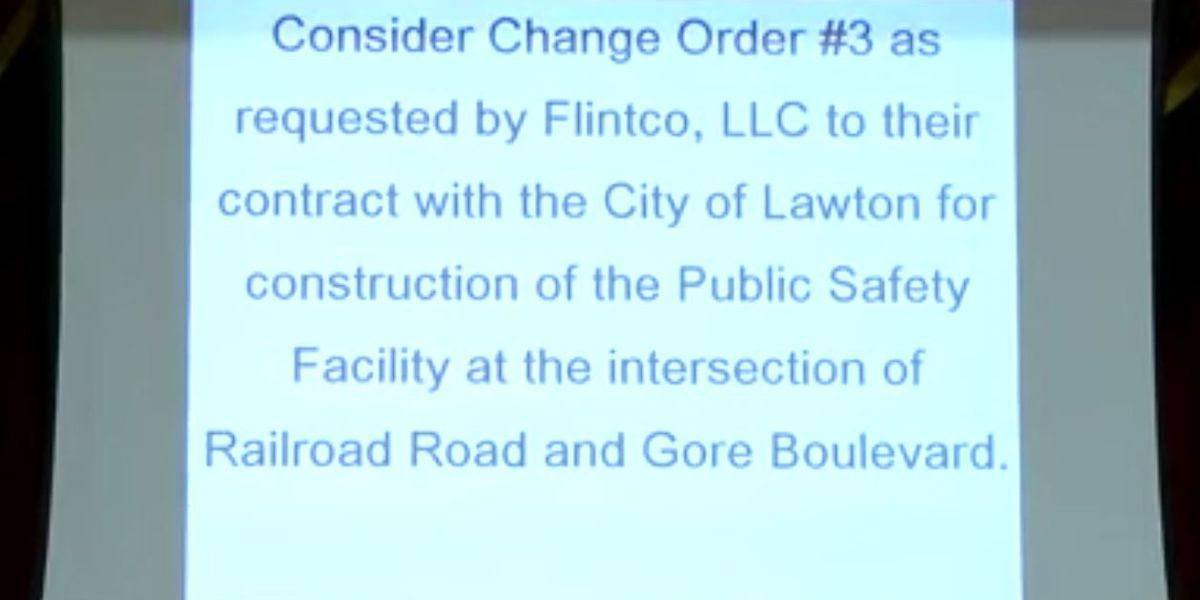 Lawton City Council votes on additional facility costs