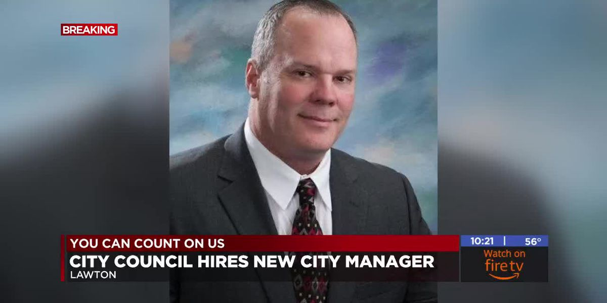 Lawton City Council names new city manager