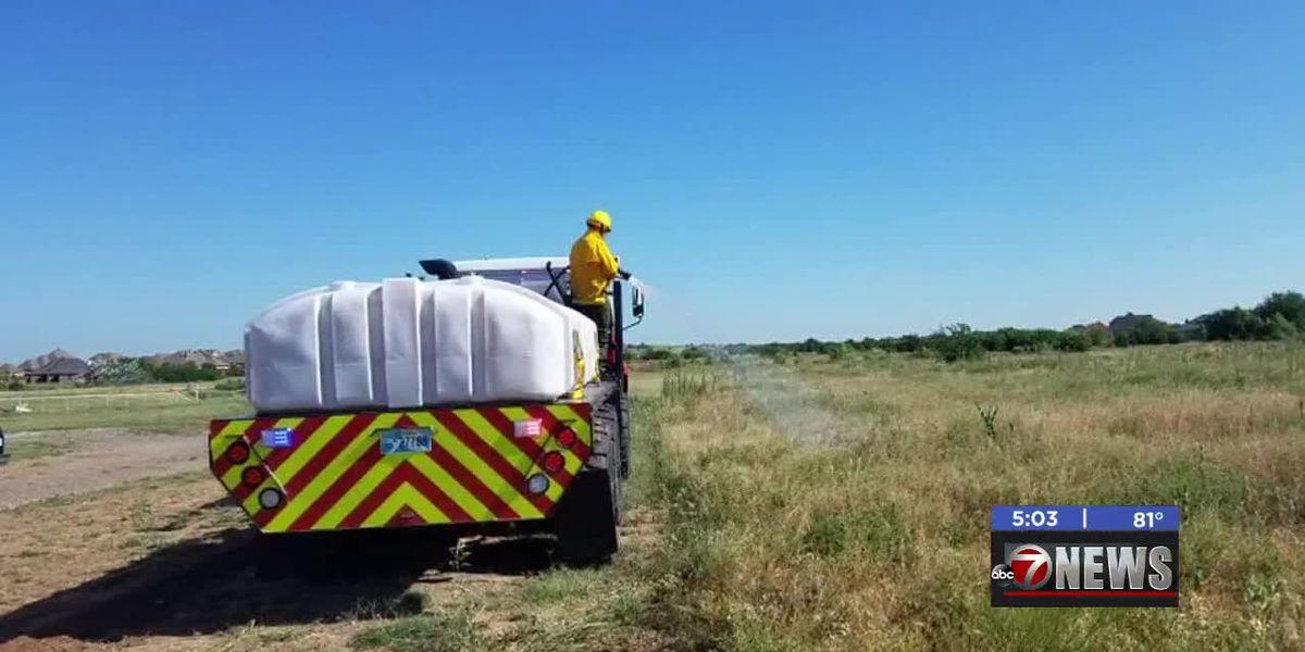 Valley View Volunteer Fire Department train for wildland fires