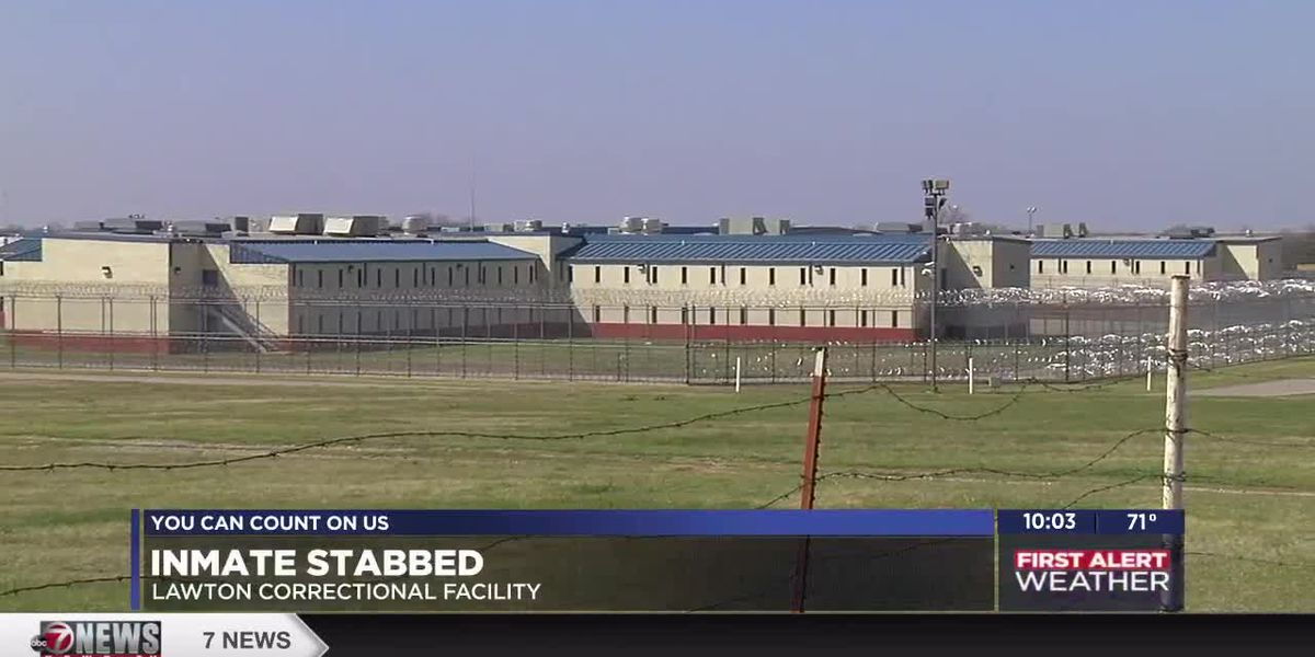 Inmate stabbed at Lawton Correctional Facility