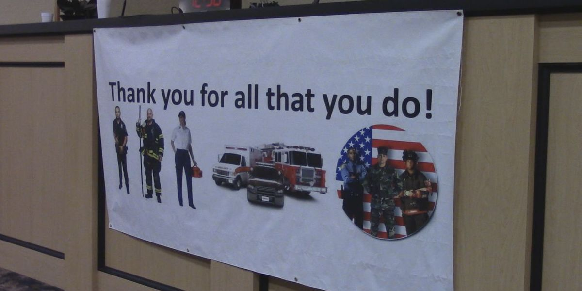 Cameron Baptist Church salutes first responders with appreciation luncheon