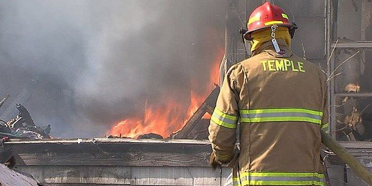 Temple family loses home in fire