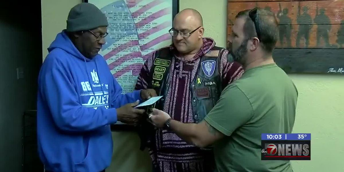 Lawton Veteran Services Center receives donation from local group