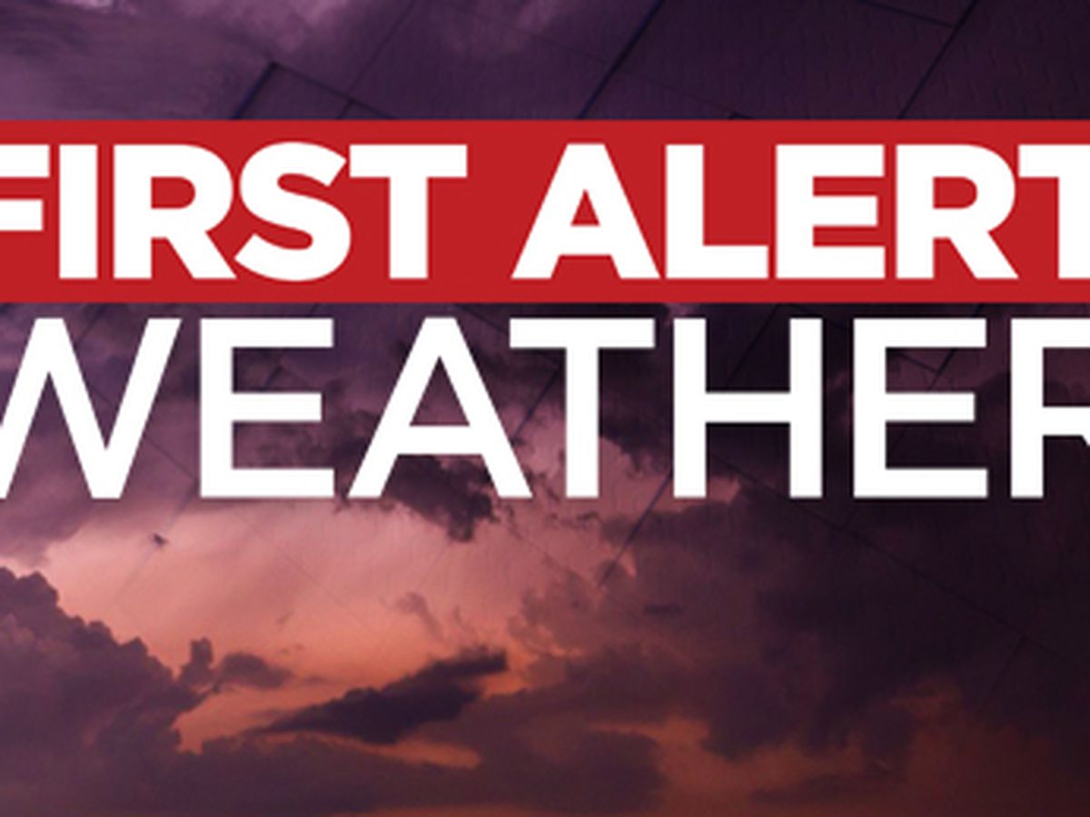 FIRST ALERT 7 FORECAST: warm and unsettled weather moves in over the next several days.