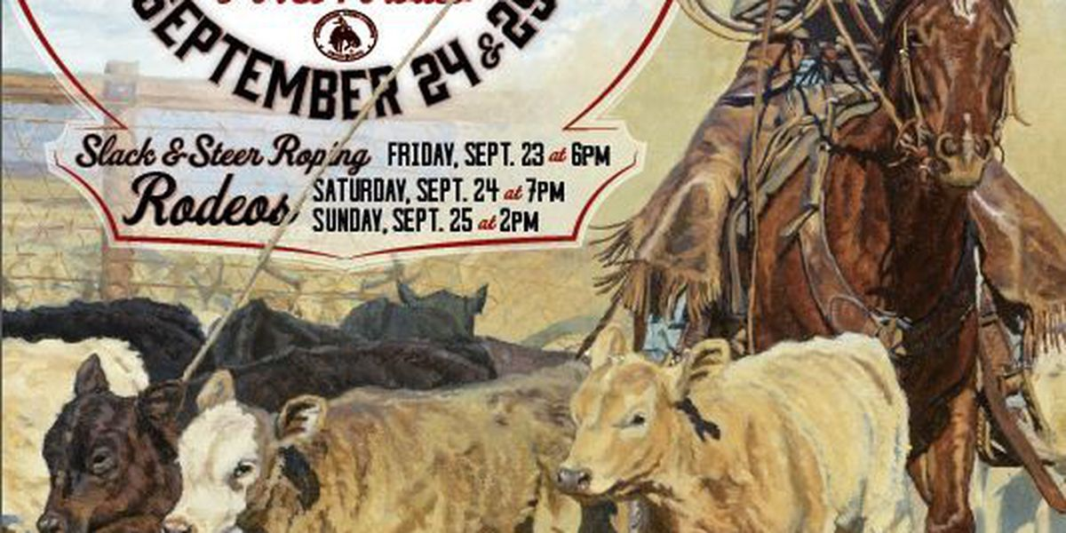 Apache Stampede PRCA Rodeo set for Sept 23-25