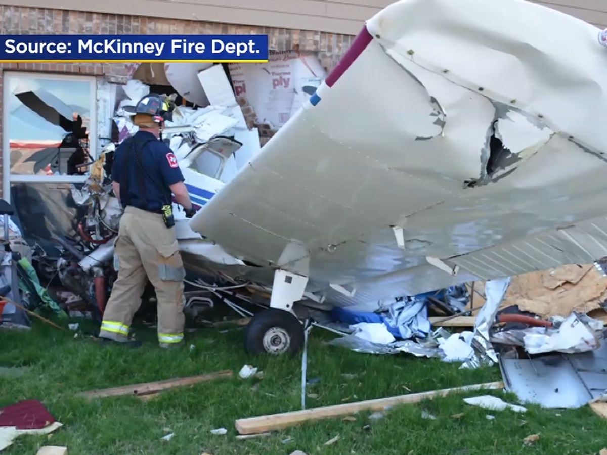 'Where are my three children?' says mother after plane crashes into home