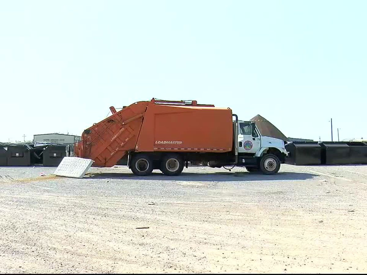 City of Lawton working to get trash picked up on time