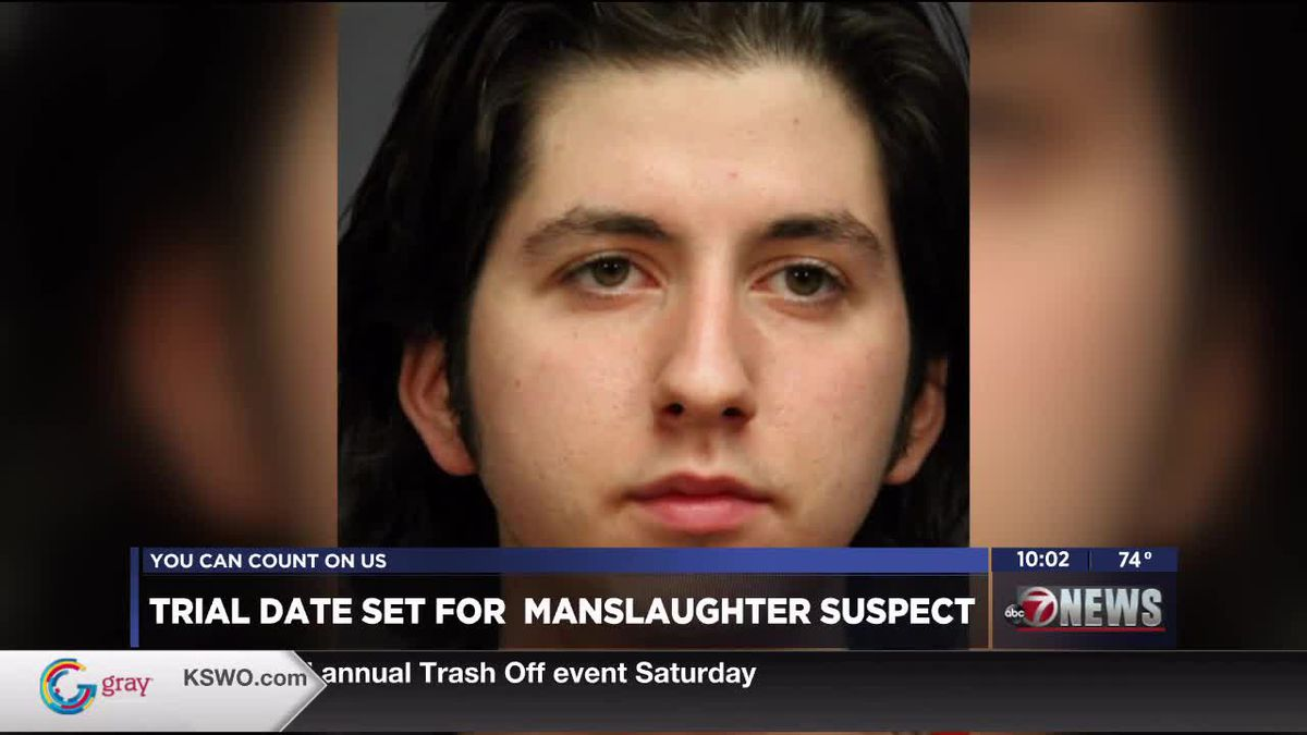 Formal arraignment date set for manslaughter suspect