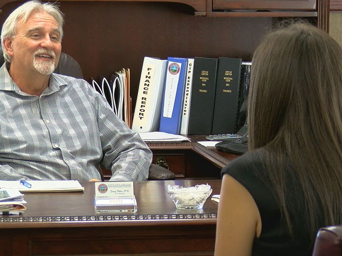 Lawton City Manager discusses retirement decision