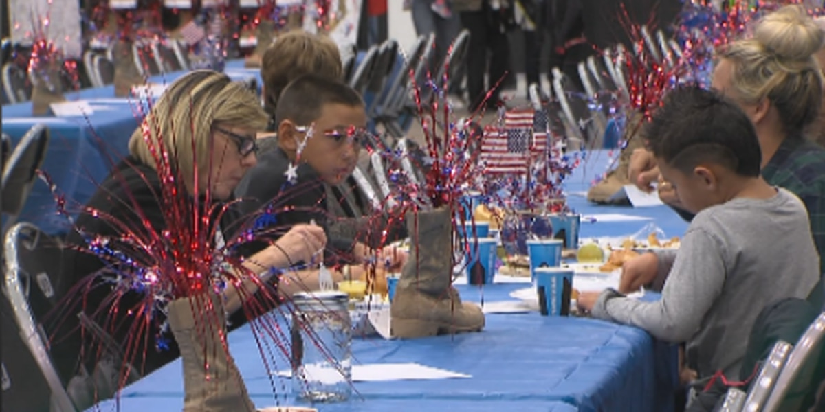 """Y Fry"" event held to support military families"