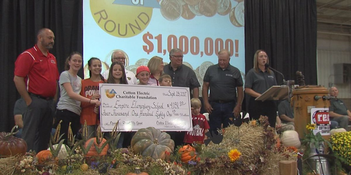 Cotton Electric tops $1 million in local donations