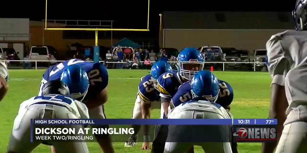 Ringling beats up on Dickson 33-13