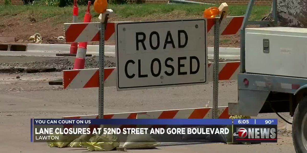 Traffic Advisory: Lane closures at 52nd & Gore