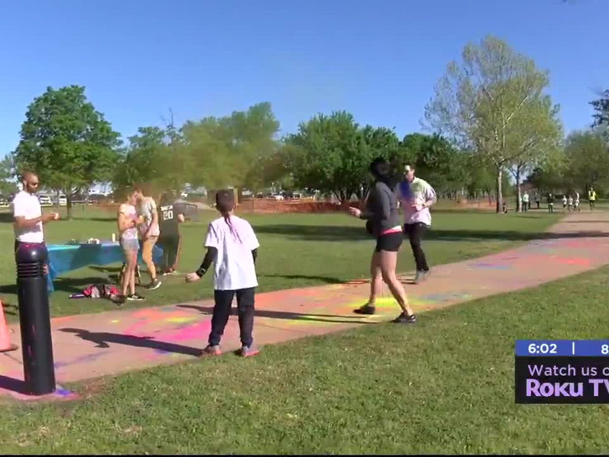 Lawton Family YMCA holds color run fundraiser