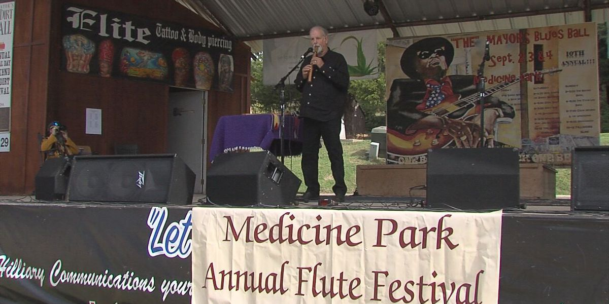 Medicine Park prepping for annual Art Walk & Flute Festival