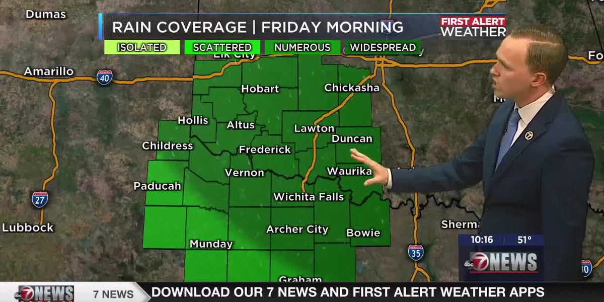 7News First Alert Weather: Cold front brings final round of showers & storms tomorrow morning