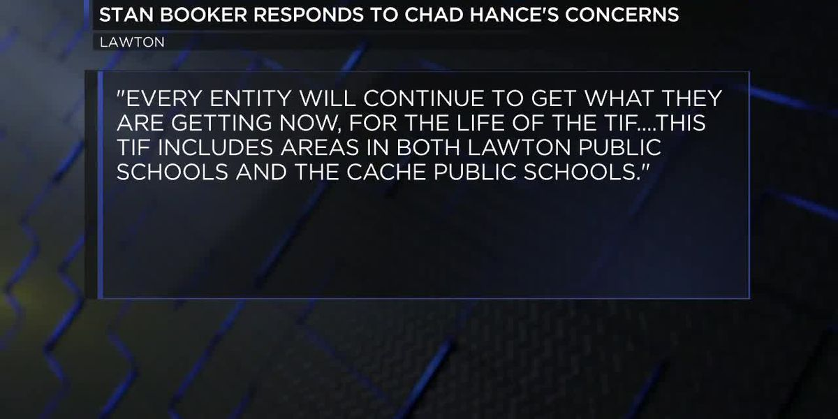 Lawton mayor responds to Cache superintendent's remarks about TIF plan