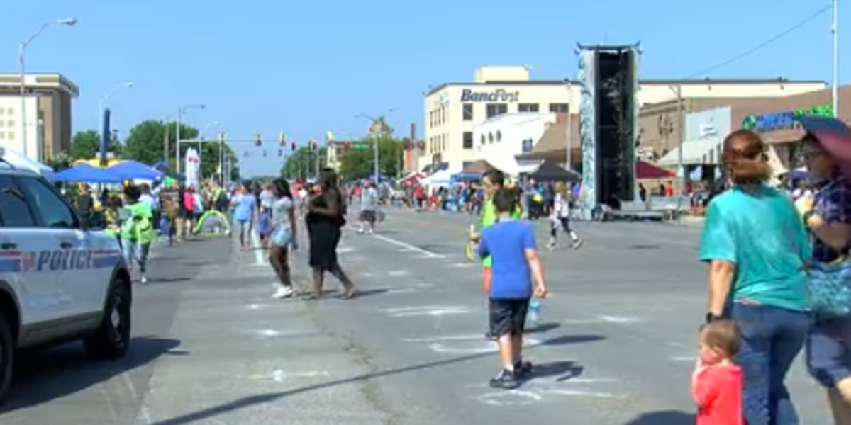 Downtown Lawton packed for Fall Open Streets event