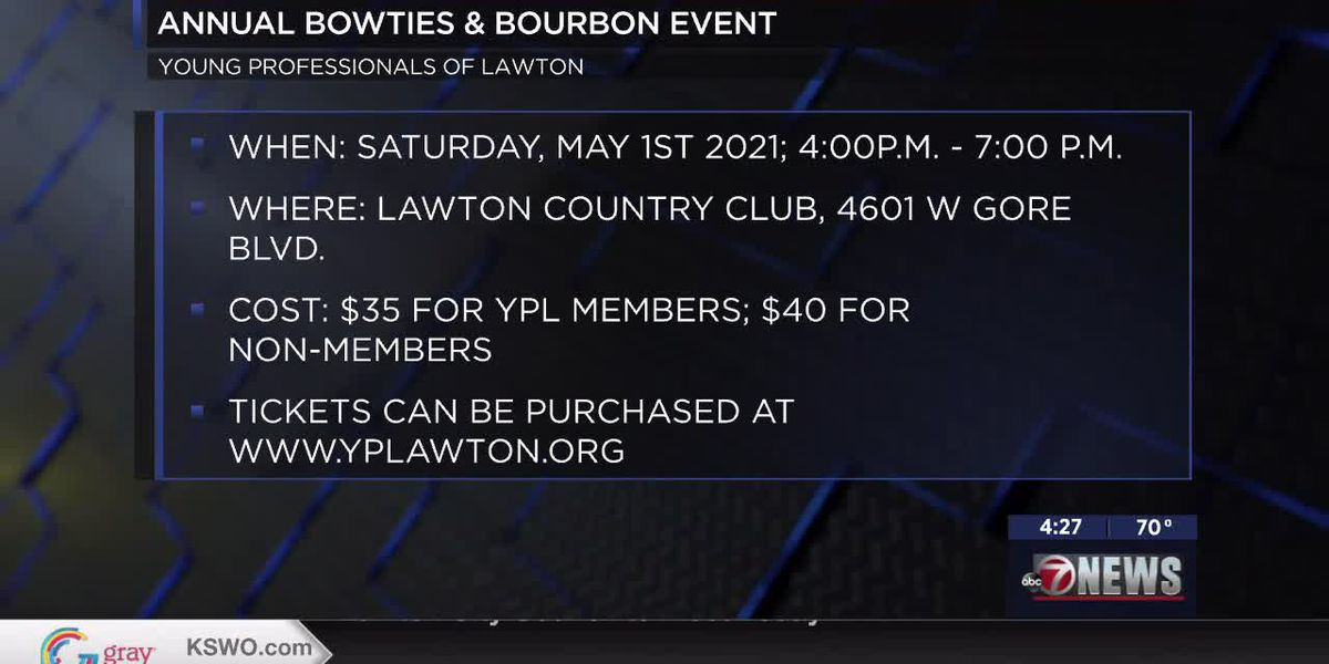 Young Professionals of Lawton to hold annual Bowties & Bourbon event