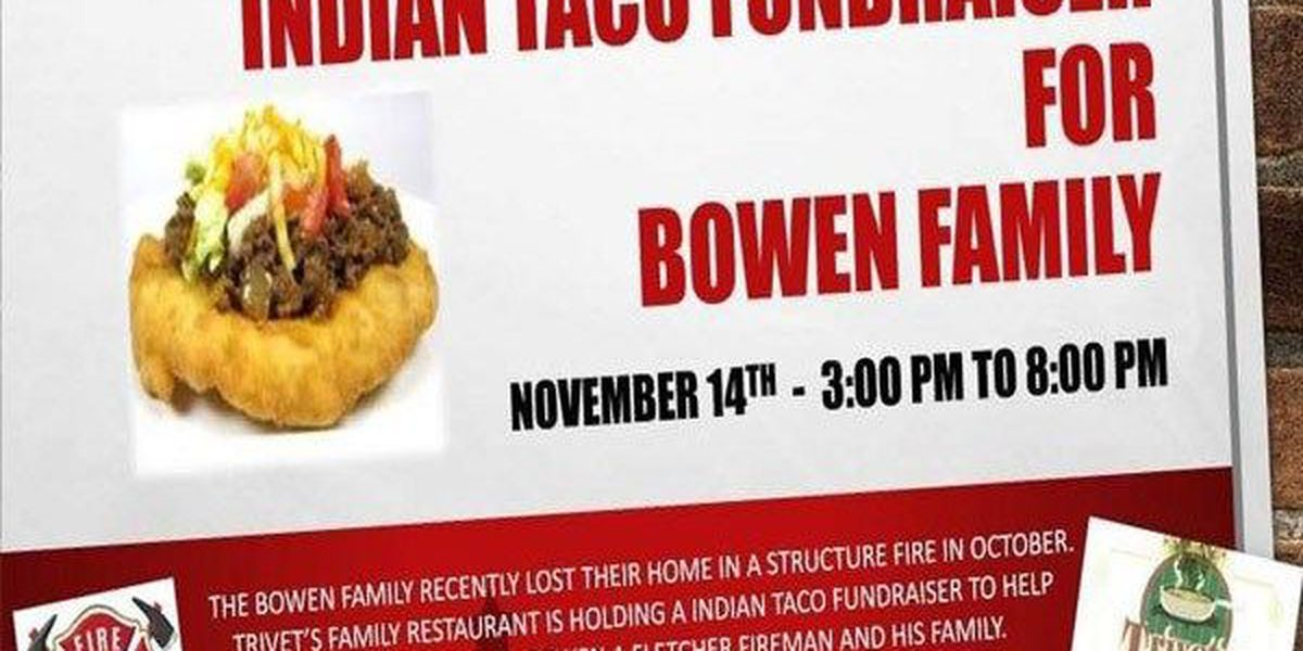 Indian taco fundraiser held to help Fletcher firefighter