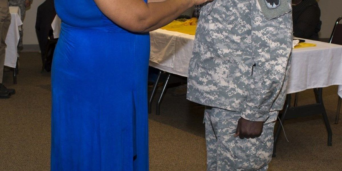 1st African American promoted to CW5 in OK Army National Guard