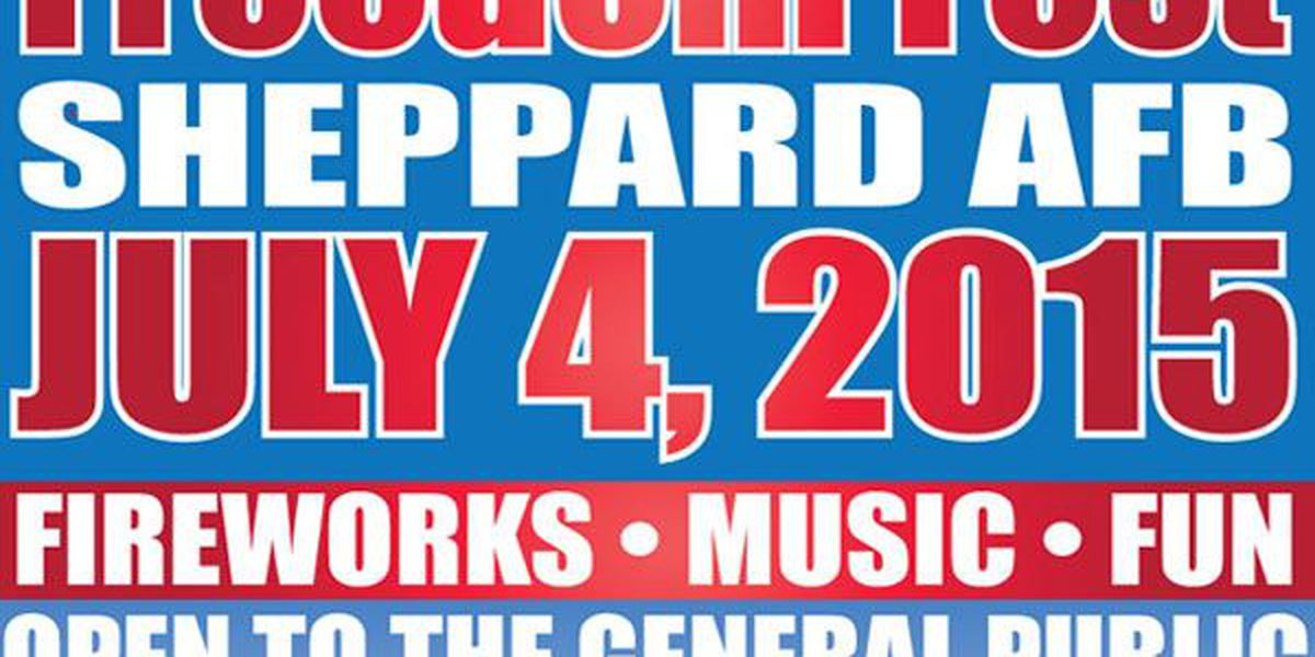 Sheppard AFB prepares for Freedom Fest