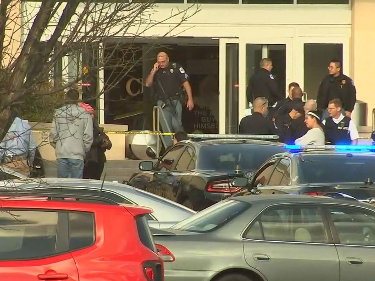Police: 1 person shot at Atlanta-area mall, suspect at large
