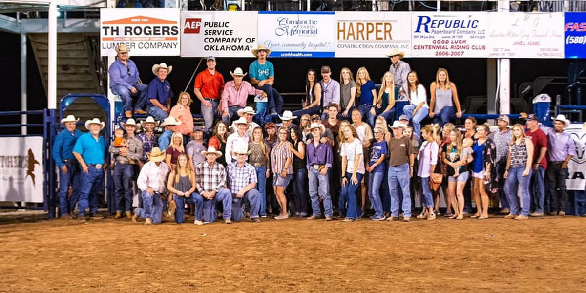 Local cowboy wins bull riding at Lawton Rangers Rodeo