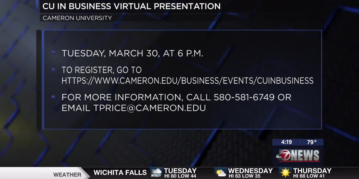 CU hosts virtual presentation on graduate degree programs in business