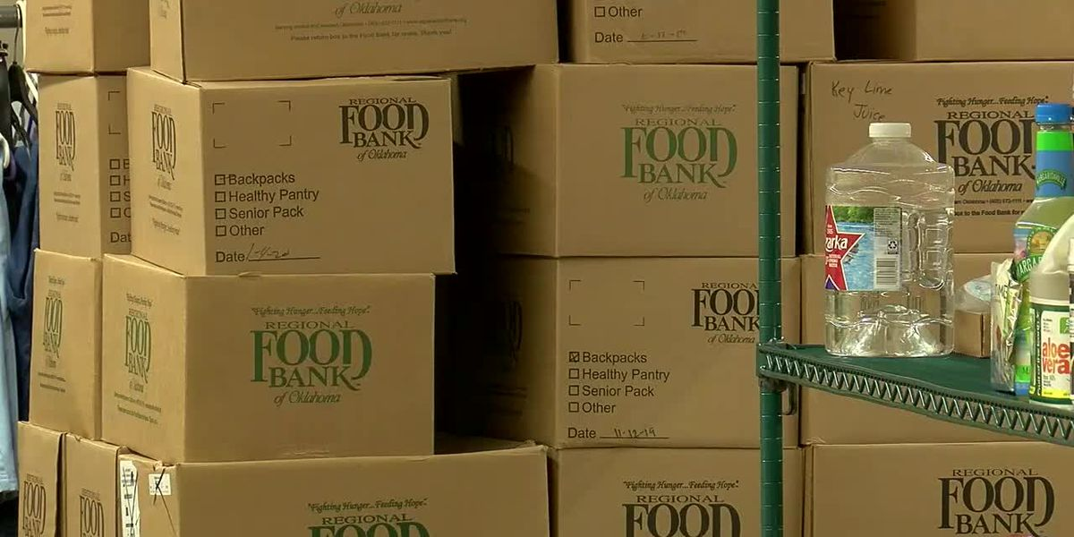 Governor Stitt announces approved relief funding for food banks