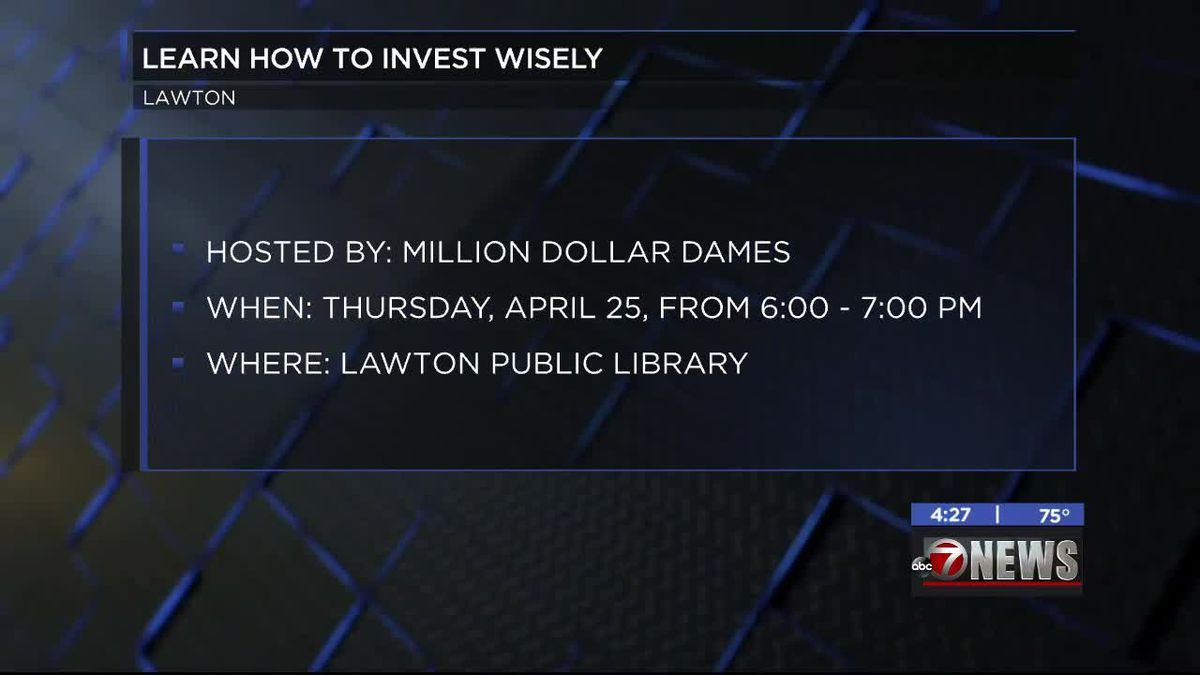Lawton Public Library hosts investing workshop