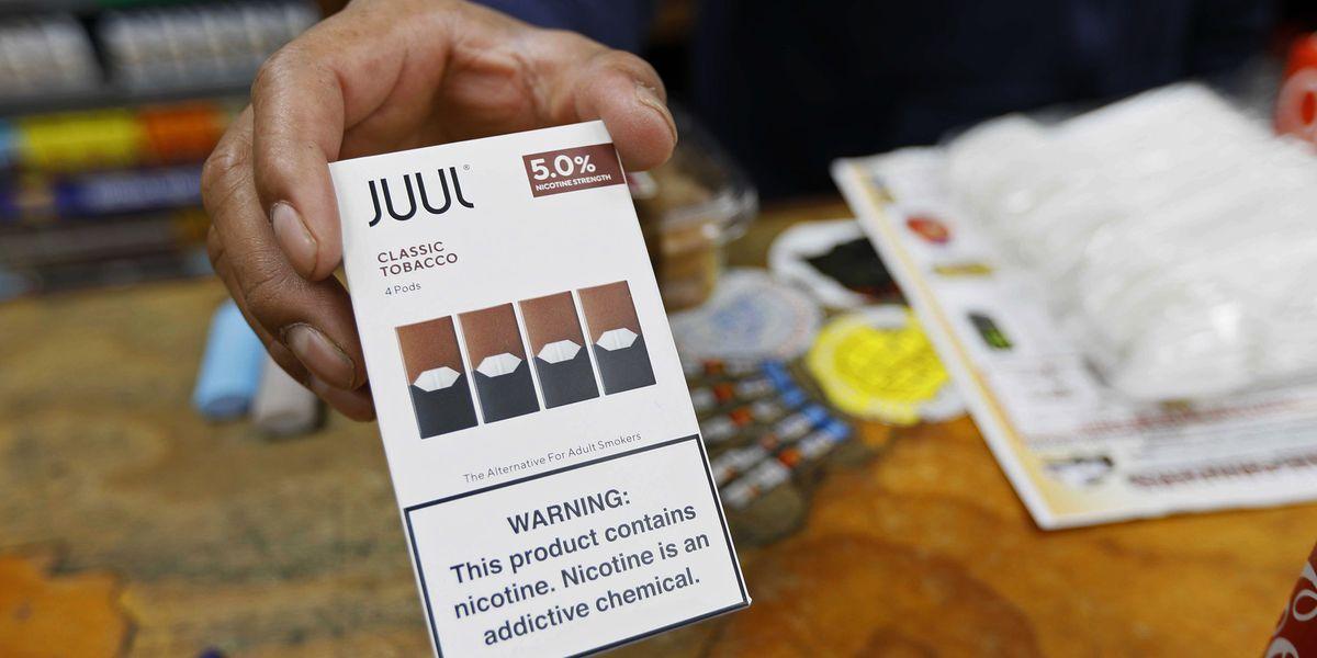 California sues e-cigarette maker Juul over ads, youth sales