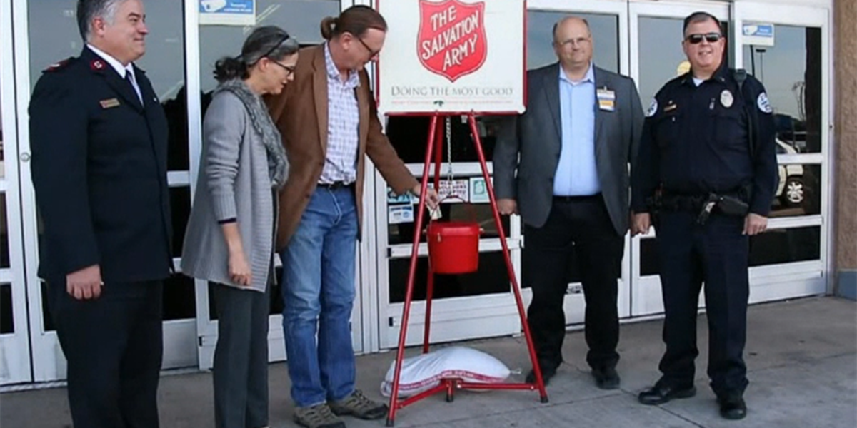 Salvation Army of Altus kicks off Angel Tree, Red Kettle campaign