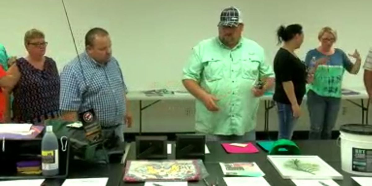Lawton FFA holds watermelon social and silent auction