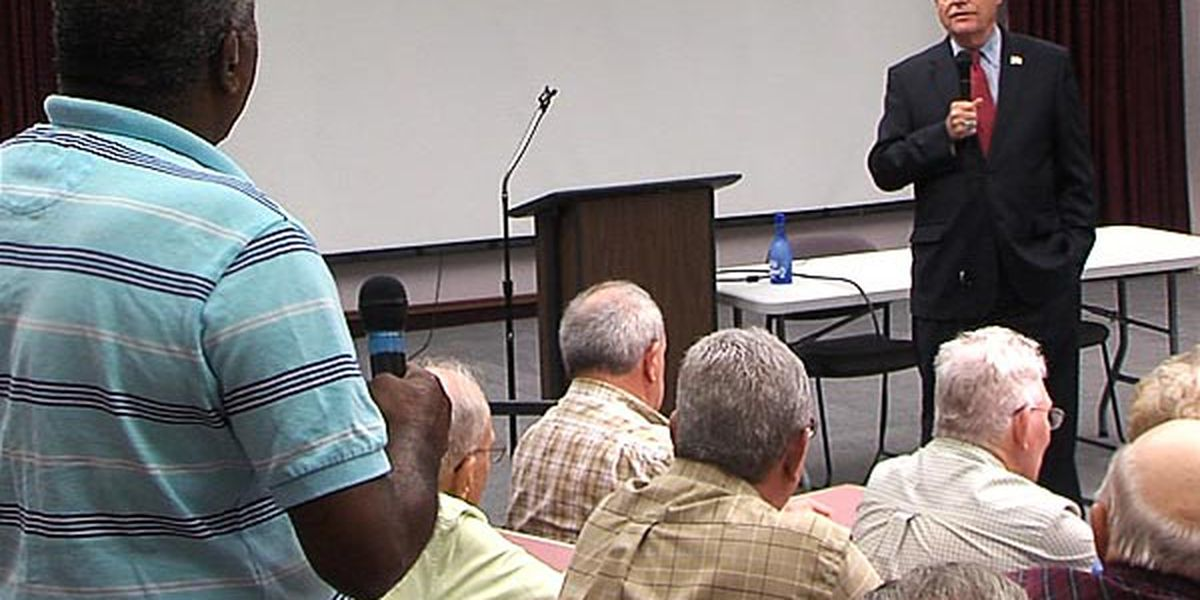 Rep Cole hosts town hall in Lawton