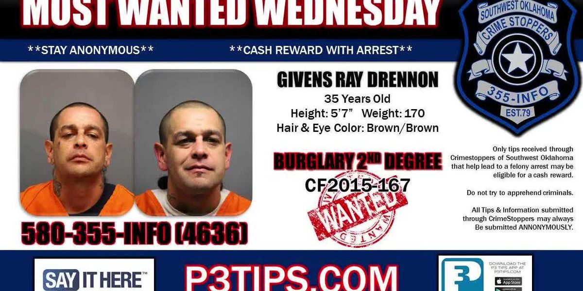 Most Wanted Wednesday: June 12