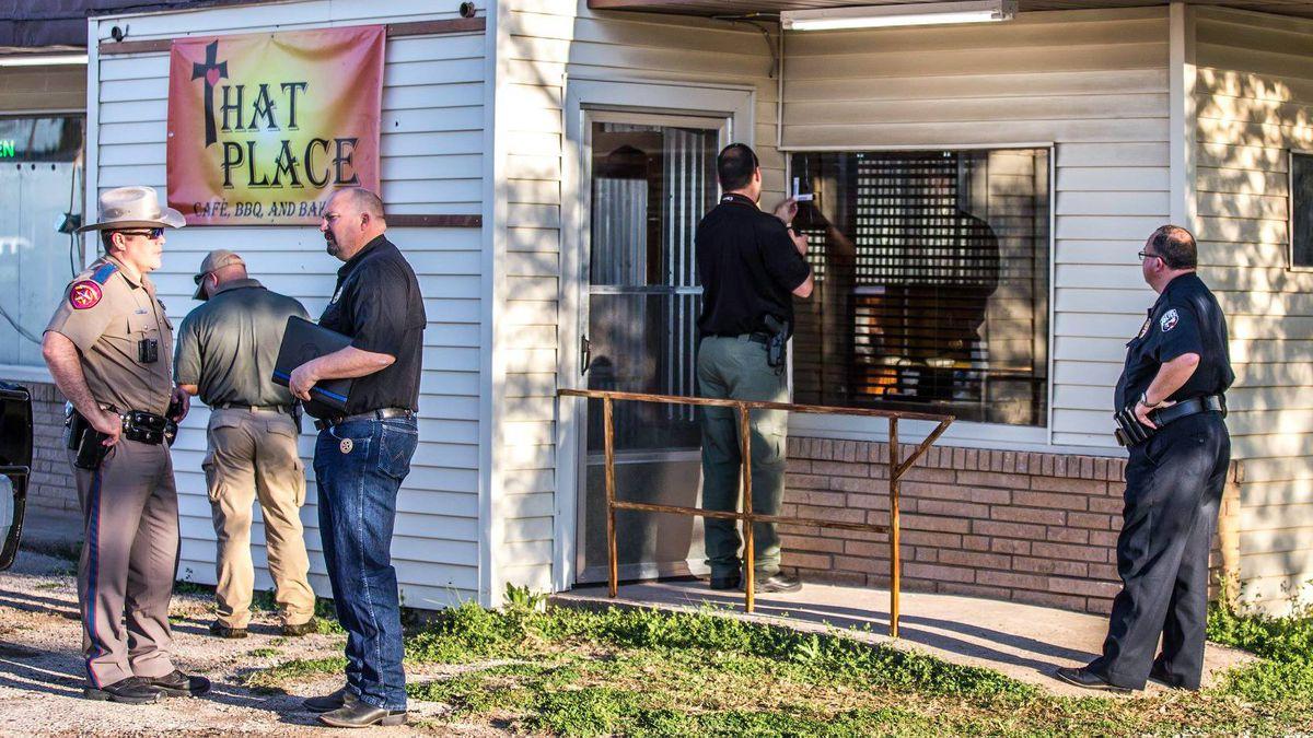 UPDATE: Officers inside Olney diner when shots fired