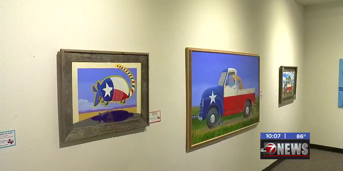 "Chisholm Trail Heritage Center holds reception for ""A Texas State of Mind"" art show"