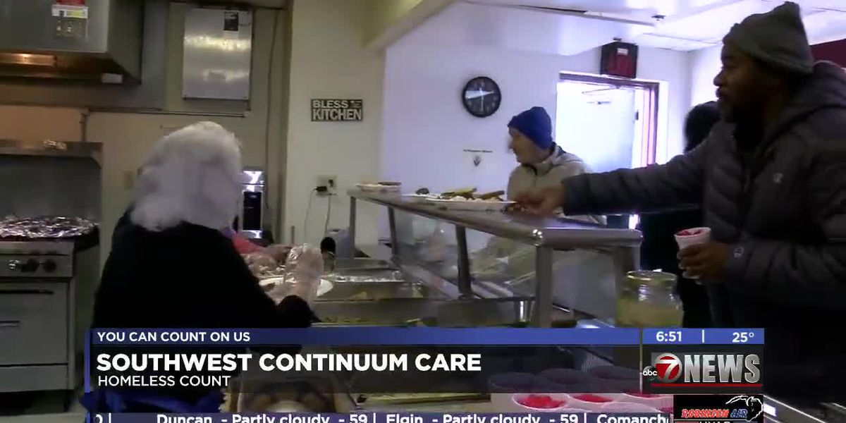 Southwest Oklahoma Continuum Care holds annual homeless count