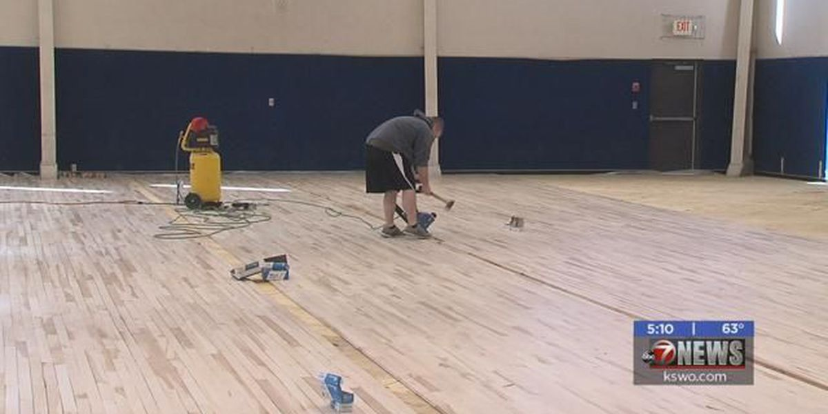 H.C. King Center getting a new basketball court